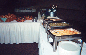 Food Table by Joanie's Catering of Hutchinson, MN
