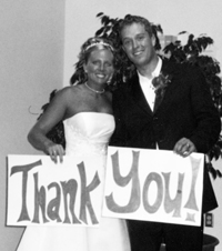 Testimonial for Joanie's Catering from Anthony & Kristi Hanson